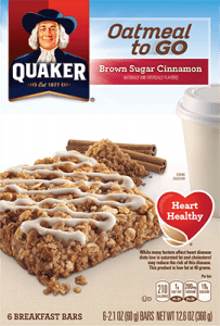 Milk-Free Find ~ Quaker Oatmeal-To-Go
