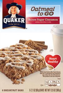 Milk-Free Find ~ Quaker Oatmeal-To-Go