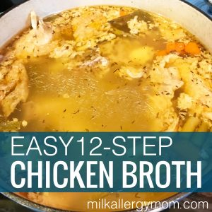 Homemade Chicken Broth: 12 Steps
