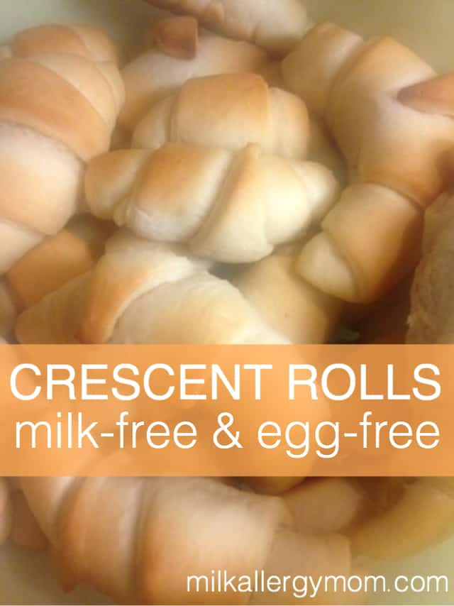 Dairy & Egg Free Crescent Rolls Recipe