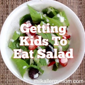 Kid-Friendly Berry Romaine Salad {Dairy-Free}