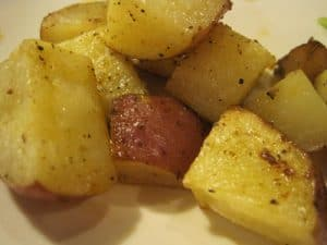 Easy Roasted Potatoes {Dairy-Free}