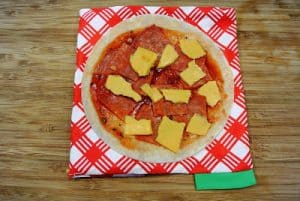 Dairy-Free Pizza Lunchables ~ Freezer Lunch