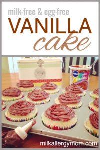 Vanilla Cake {Milk-Free & Egg-Free}