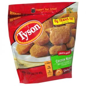 Milk-Free Find ~ Tyson Chicken Nuggets