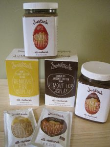 Milk-Free Find ~ Justin's Nut Butters