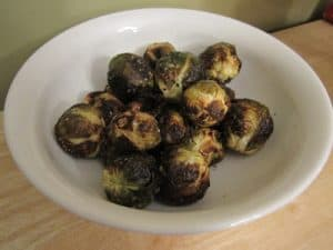 Roasted Brussel Sprouts {Dairy-Free}