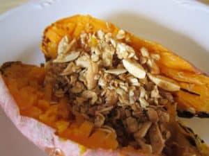 Sweet Potato with Almond Crumble {Dairy-Free}