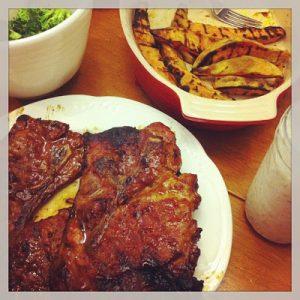 BBQ Pork Steak {Dairy-Free}