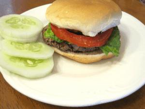Oat Black Bean Burgers {Free of Top 8 Allergens}