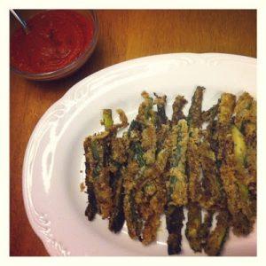 Cucumber Fries {Dairy-Free & Egg-Free}