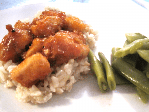 Sweet & Sour Chicken {Dairy-Free & Egg-Free}