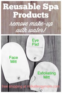 Remove Make-Up With Just Water & Micofiber ~ E-Cloth Spa Set