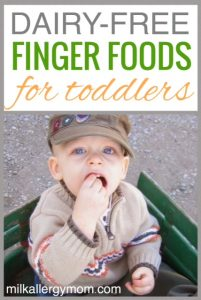 Milk Allergy Question ~ Dairy-Free Finger Foods for Toddlers?