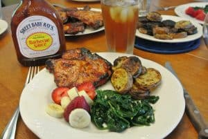 Sweet Baby Rays Pork Chops {Dairy-Free}