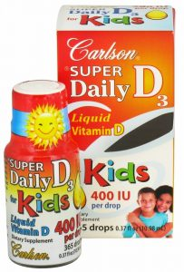 Dairy-Free Vitamin D Supplement for Babies & Kids
