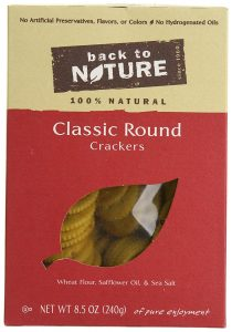 Milk-Free Find ~ Back to Nature Crackers