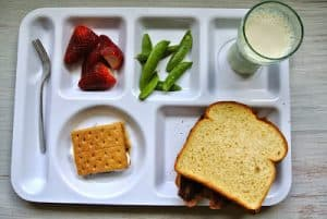 Bacon Sandwich (Lunch for Kids)