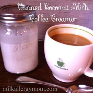 Canned Coconut Milk for Dairy-Free Coffee Creamer