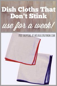 Dish Cloths That Don't Smell ~ E-Cloth Works!