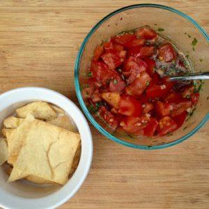 Bruschetta, Tomato, and Basil {Dairy-Free}