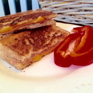 Grilled Ham & Cheese {Dairy-Free}