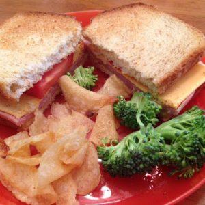 Club Sandwich (Lunch for Kids)