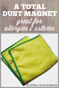 Dusting with Allergies & Asthma ~ You Need E-Cloth!