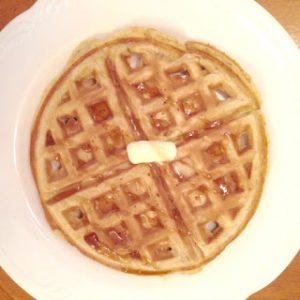 Hearty Dairy-Free Oat Waffles