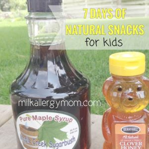 Natural Snacks for Kids ~ Ants on a Log
