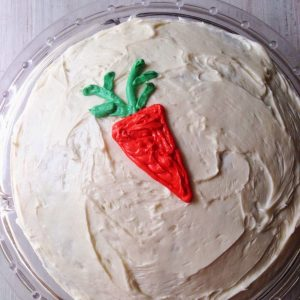 Carrot Cake with Cream Cheese Frosting {Dairy-Free}