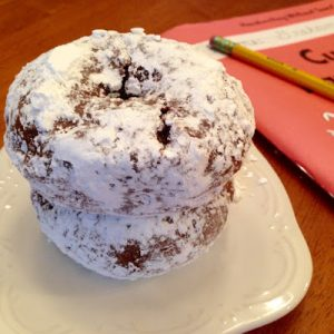Baked Powdered Sugar Donut