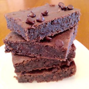 Black Bean Brownies {Wheat-Free}