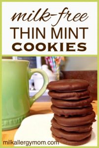 Thin Mint Cookies {Dairy-Free & Egg-Free}