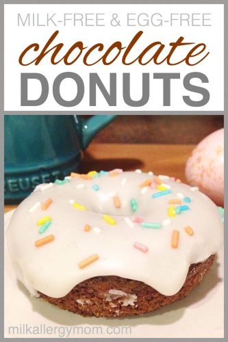 Dairy-Free and Egg-Free Chocolate Cake Donuts Recipe