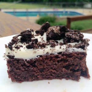 Oreo Brownies {Dairy-Free & Egg-Free}