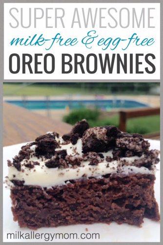 Dairy-Free Oreo Brownie Recipe