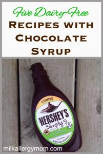 Milk-Free Find ~ Hershey's Chocolate Syrup