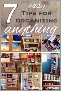 7 Easy Tips for Organizing Anything