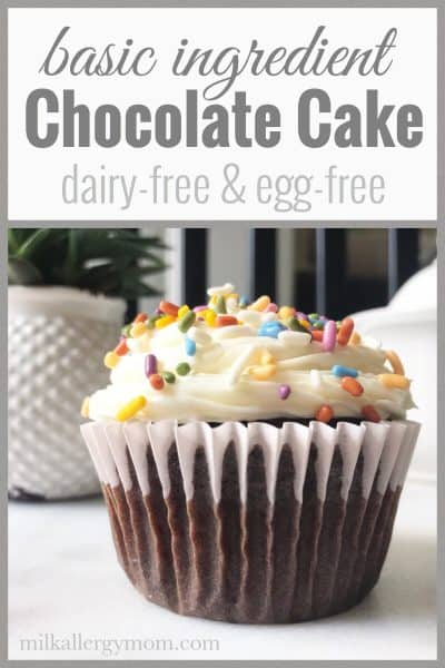 Easy Milk and Egg Free Chocolate Wacky Cake