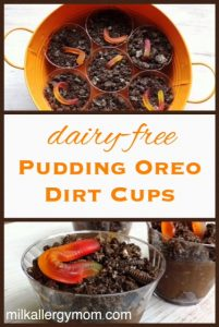 Chocolate Pudding Dirt Cups {Dairy-Free}