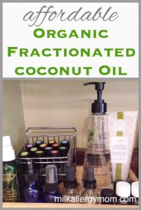 Fractionated Coconut Oil {Organic & Affordable}