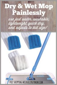 Can't Afford a Norwex Mop?  Try E-Cloth!