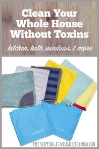 E-Cloth 8-Piece Home Set ~ Cleaning Without Toxins