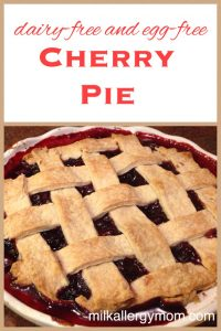 Cherry Pie {Dairy-Free & Egg-Free}