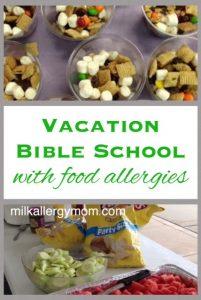Food Allergies & Vacation Bible School