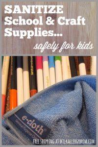Clean Kid Stuff Safely