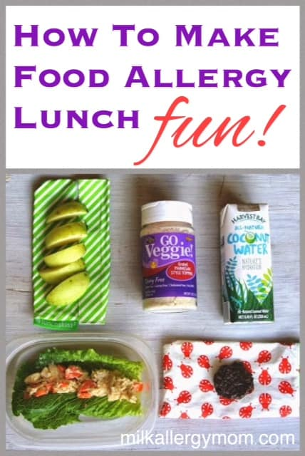 Beyond the sandwich fun lunch ideas for food allergy kids how to make allergy free lunches fun forumfinder Gallery