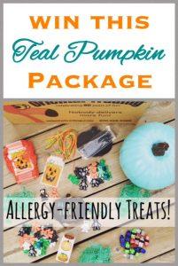 Teal Pumpkin Prize Package ~  Oriental Trading Fun