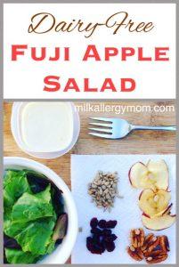 Easy Fuji Apple Salad Like Panera {Dairy-Free}